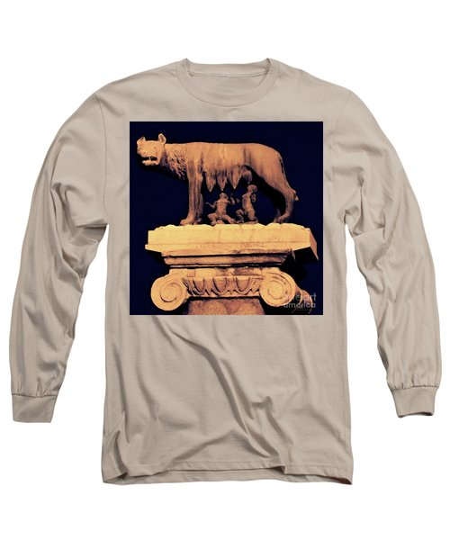 Remus And Romulus Long Sleeve T-Shirt