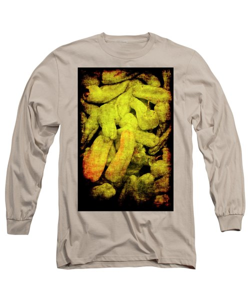 Renaissance Green Peppers Long Sleeve T-Shirt