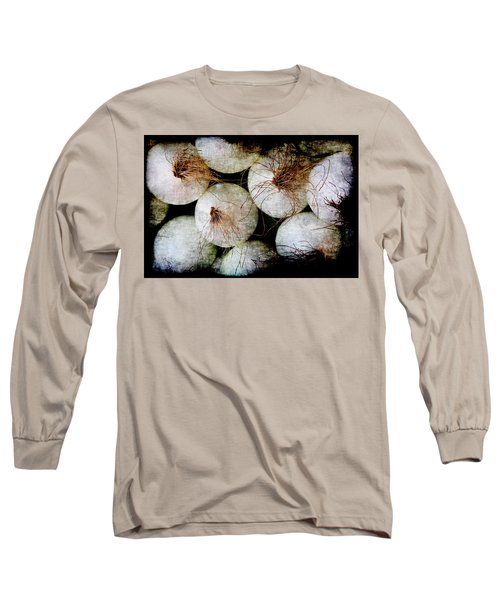 Renaissance White Onions Long Sleeve T-Shirt