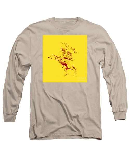 Renegade And Chief Osceola Long Sleeve T-Shirt by Paul  Wilford