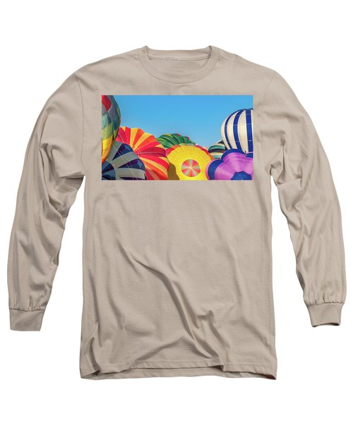 Long Sleeve T-Shirt featuring the photograph Reno Balloon Races by Bill Gallagher