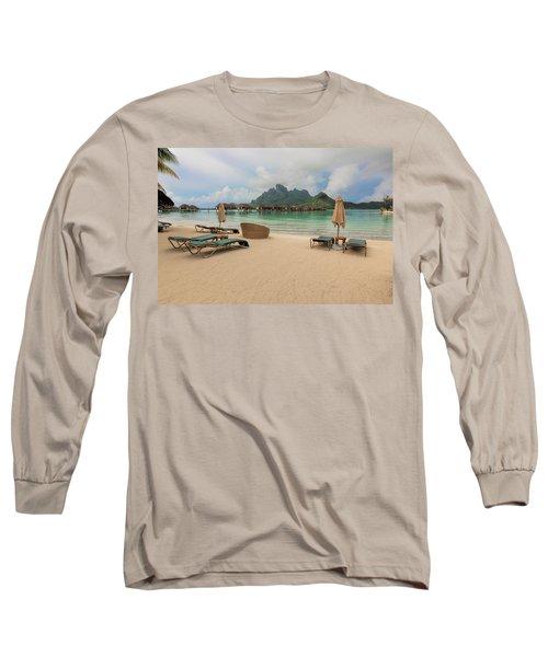Resort Life Long Sleeve T-Shirt by Sharon Jones