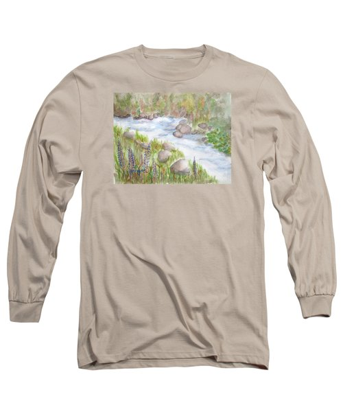 Rest By My Waters Long Sleeve T-Shirt