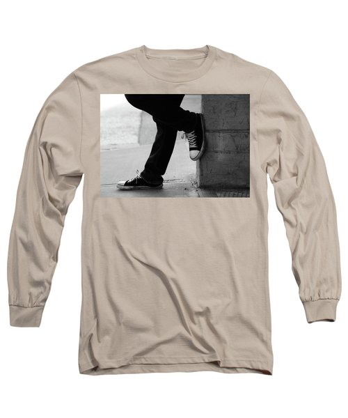 Rest Then Tackle  Long Sleeve T-Shirt by Empty Wall