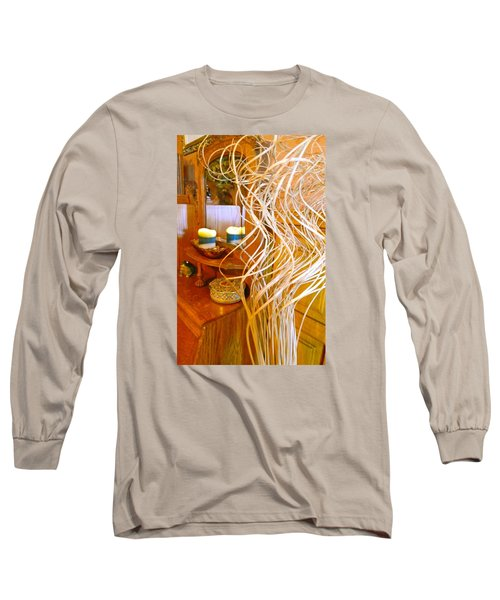 Restorative Beauty Long Sleeve T-Shirt by Randy Rosenberger