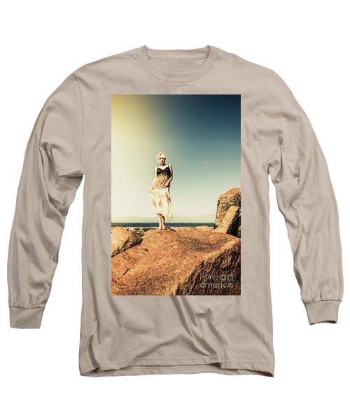 Retro Beach Fashions Long Sleeve T-Shirt