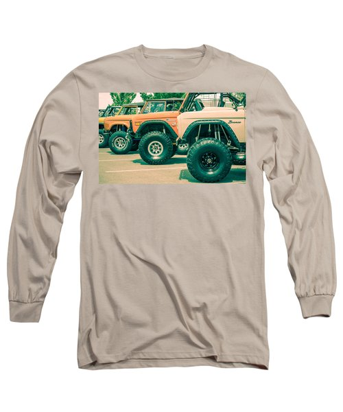 Retro Bronco Heaven Long Sleeve T-Shirt
