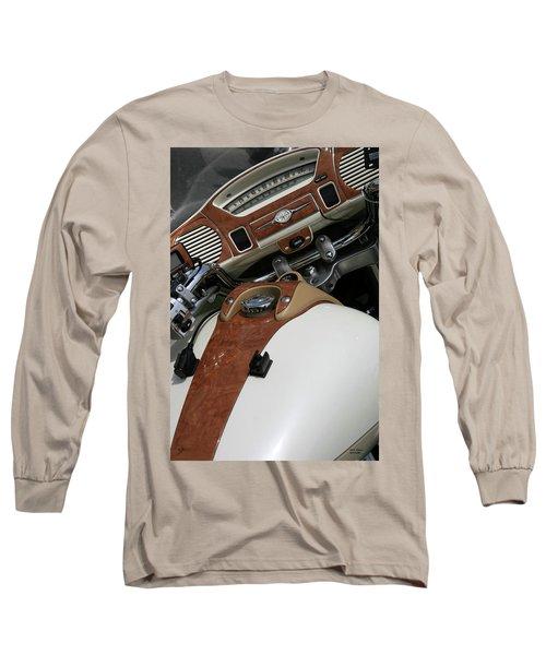Retro Look Long Sleeve T-Shirt