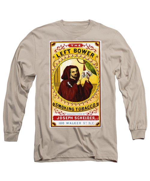 Retro Tobacco Label 1869 C Long Sleeve T-Shirt
