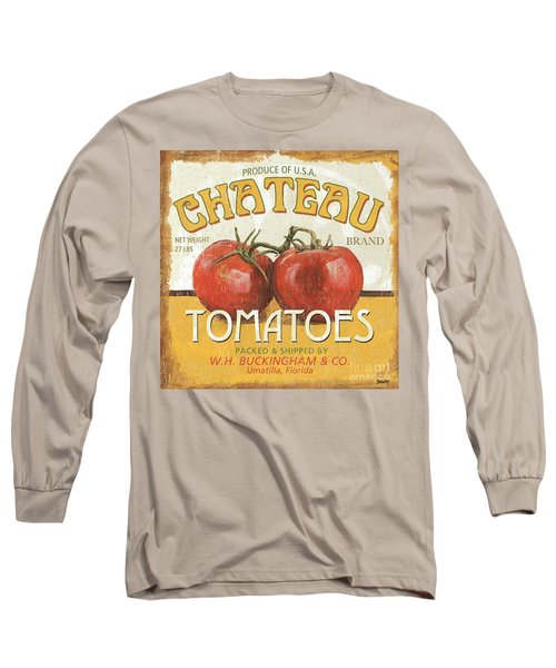 Retro Veggie Labels 4 Long Sleeve T-Shirt