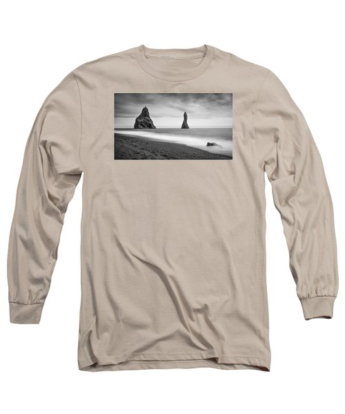 Reynisfjara  Long Sleeve T-Shirt by Brad Grove