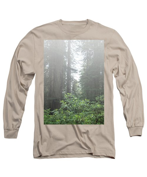 Rhododendrons In The Fog Long Sleeve T-Shirt