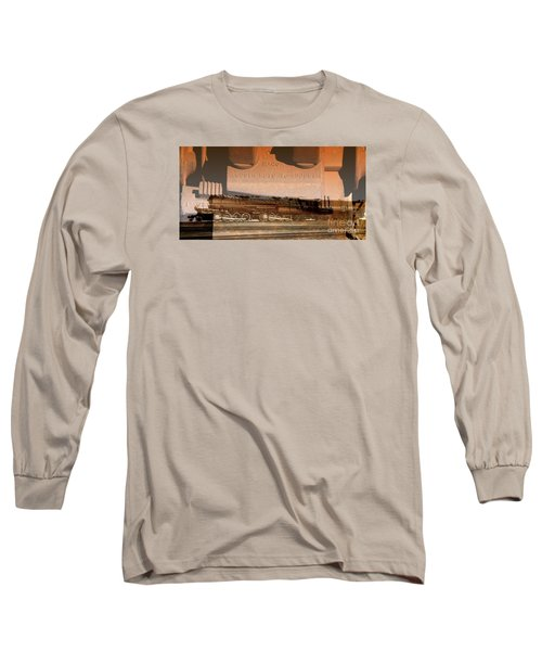 Ribbon Of Steel Long Sleeve T-Shirt