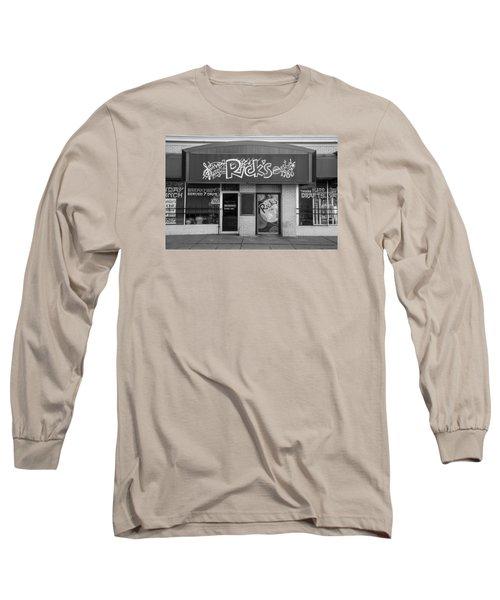 Rick's Cafe East Lansing  Long Sleeve T-Shirt by John McGraw