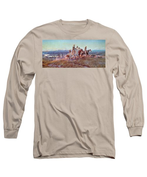 Riders Of The Open Range Long Sleeve T-Shirt