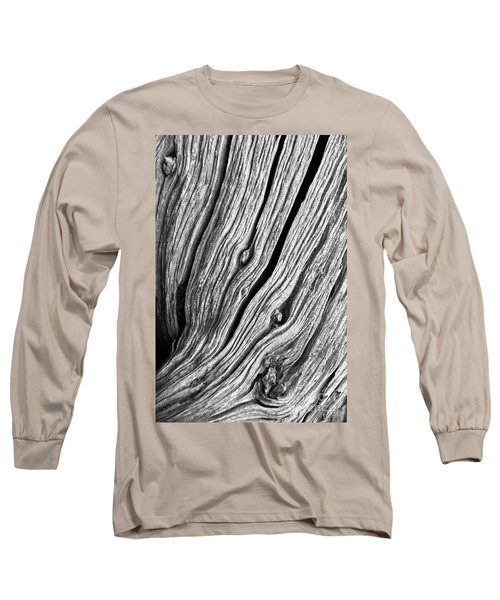 Long Sleeve T-Shirt featuring the photograph Ridges - Bw by Werner Padarin