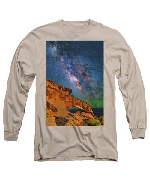 Riding Over The Arch Long Sleeve T-Shirt