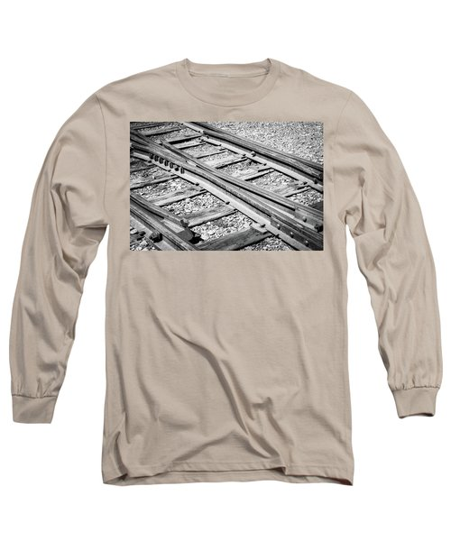 Long Sleeve T-Shirt featuring the photograph Riding The Rail by Colleen Coccia