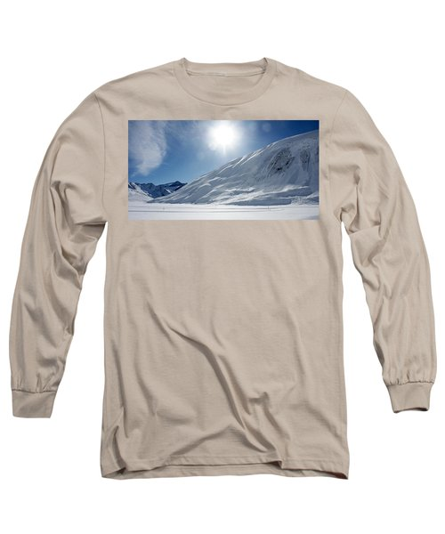 Long Sleeve T-Shirt featuring the photograph Rifflsee by Christian Zesewitz