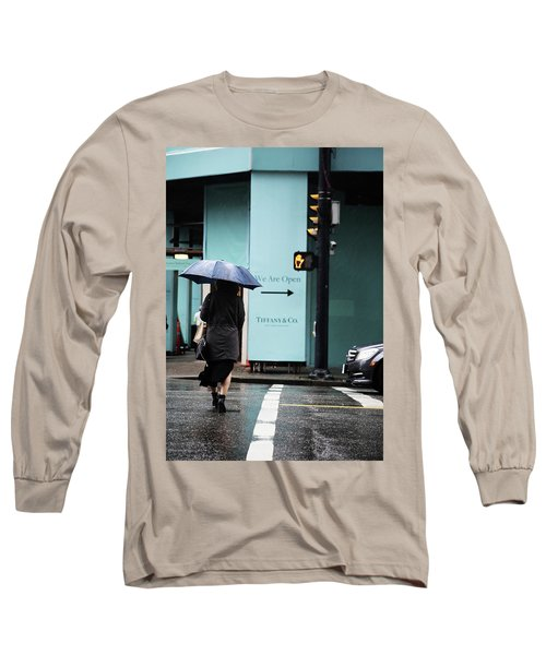 Right  Long Sleeve T-Shirt by Empty Wall