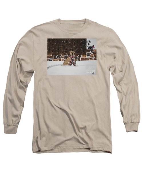 Long Sleeve T-Shirt featuring the painting Ring The Dinner Bell by Jeffrey Koss