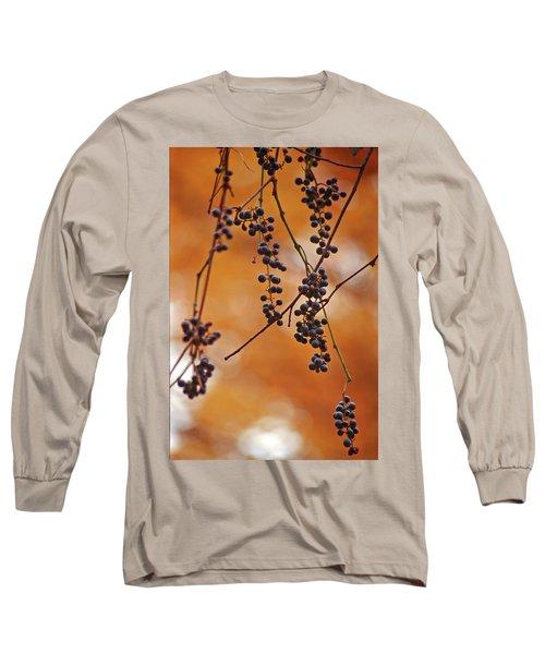Ripe Wild Grapes  Long Sleeve T-Shirt
