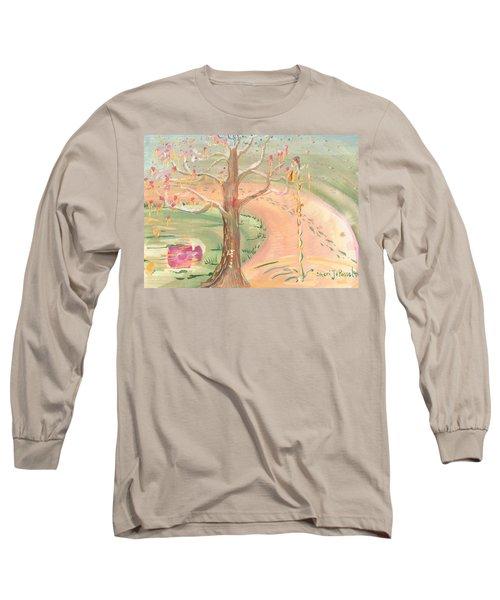Ripples Of Spring Long Sleeve T-Shirt