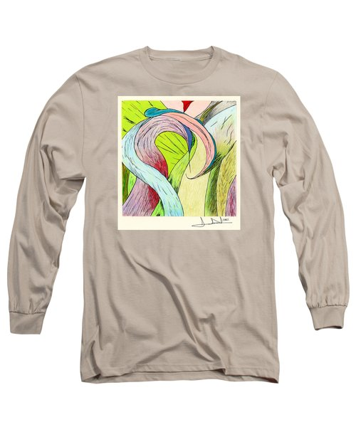 River Grass Up Close Long Sleeve T-Shirt