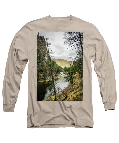 River In The Canyon Long Sleeve T-Shirt