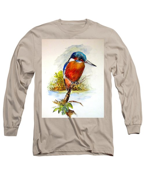 River Kingfisher Long Sleeve T-Shirt