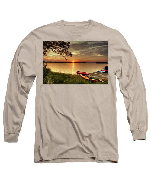 Long Sleeve T-Shirt featuring the photograph River Road Park Never Disappoints by Phil Mancuso