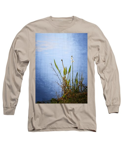 Long Sleeve T-Shirt featuring the photograph Riverbank Beauty by Carolyn Marshall
