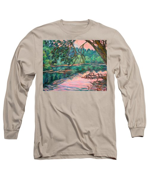 Riverview At Dusk Long Sleeve T-Shirt