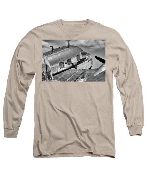 Rivets And Polished Metal Long Sleeve T-Shirt