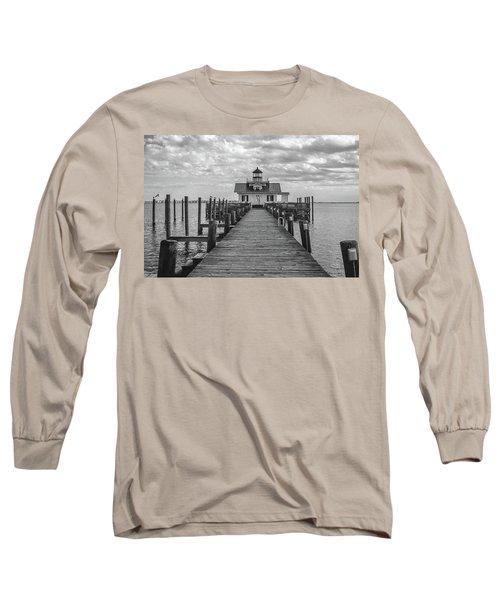 Roanoke Marshes Light Long Sleeve T-Shirt by David Sutton