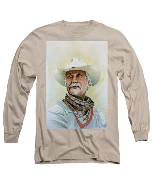 Robert Duvall As Augustus Mccrae In Lonesome Dove Long Sleeve T-Shirt