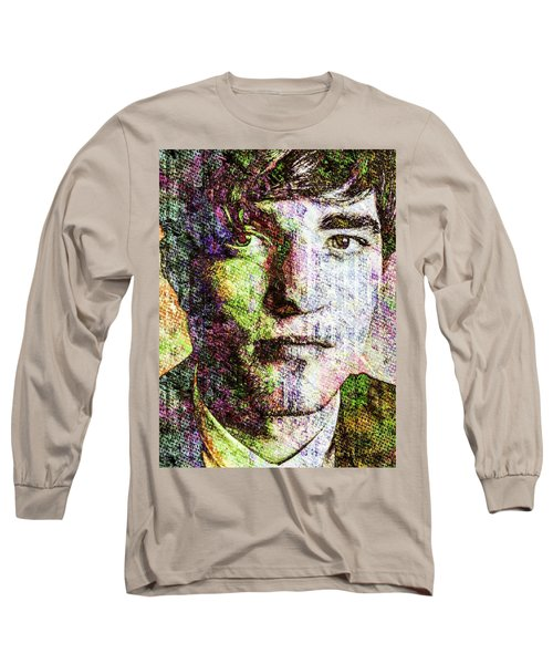 Robert Pattinson Long Sleeve T-Shirt