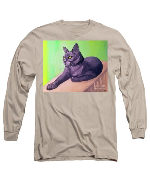 Robyn Date With Paint Mar 19 Long Sleeve T-Shirt