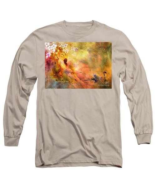 Long Sleeve T-Shirt featuring the photograph Rock Of Ages by Annie Zeno
