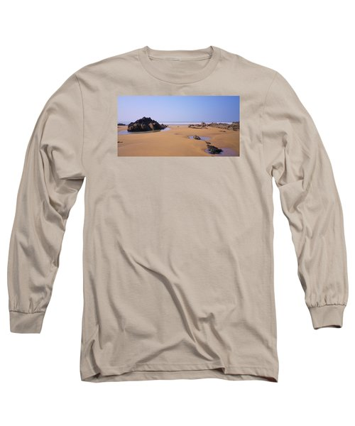 Rock Pools Long Sleeve T-Shirt by Richard Brookes