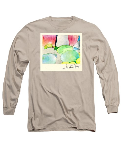 Rocks On Path Long Sleeve T-Shirt