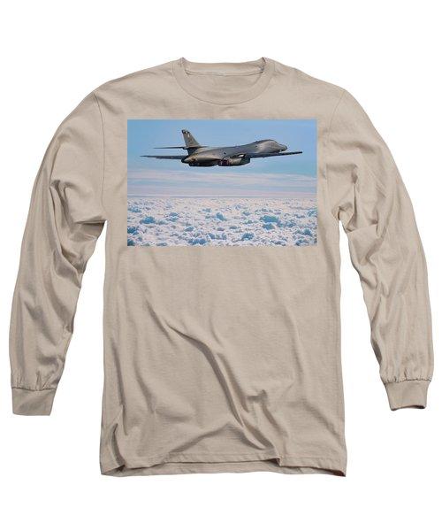 Rockwell B1 Lancer Long Sleeve T-Shirt by Ken Brannen