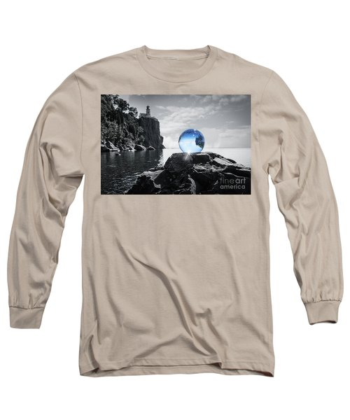 Rocky Crystal Long Sleeve T-Shirt