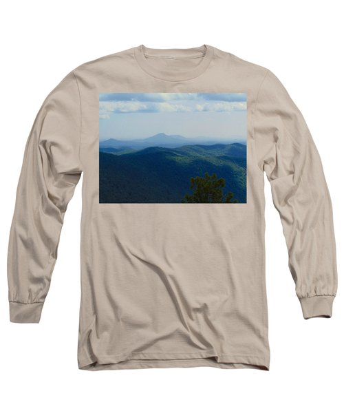 Rocky Mountain Overlook On The At Long Sleeve T-Shirt