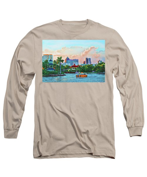 Rolling Down The New River Long Sleeve T-Shirt