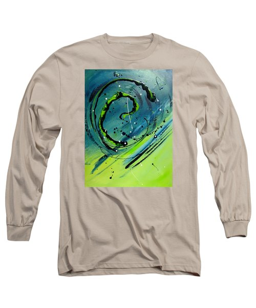 Rolling Down The River Long Sleeve T-Shirt by Mary Kay Holladay