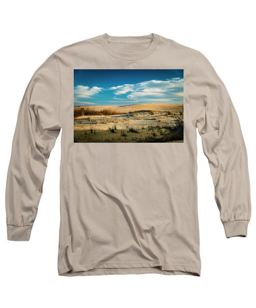 Rolling Sand Dunes Long Sleeve T-Shirt