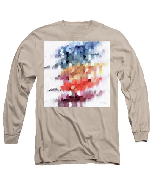 Romans 8 11. Raised From The Dead Long Sleeve T-Shirt by Mark Lawrence