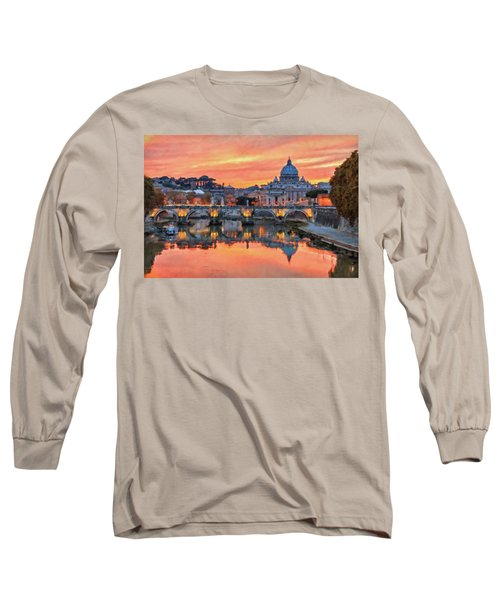 Rome And The Vatican City - 01  Long Sleeve T-Shirt