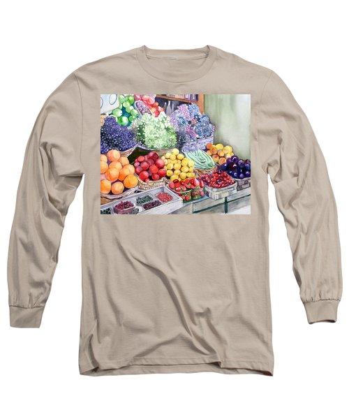 Rome Market Long Sleeve T-Shirt